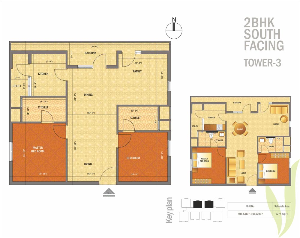 Apartments Floor Plans Located On Omr Channi